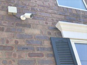 アパート建築時 防犯カメラ